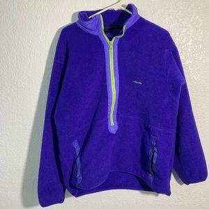 Vintage Patagonia Synchilla Blue 1/2 Zip Fleece XL